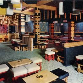 Interno Tana Club Discoteque 1969, il primo locale dove Daniele Baldelli metteva i dischi