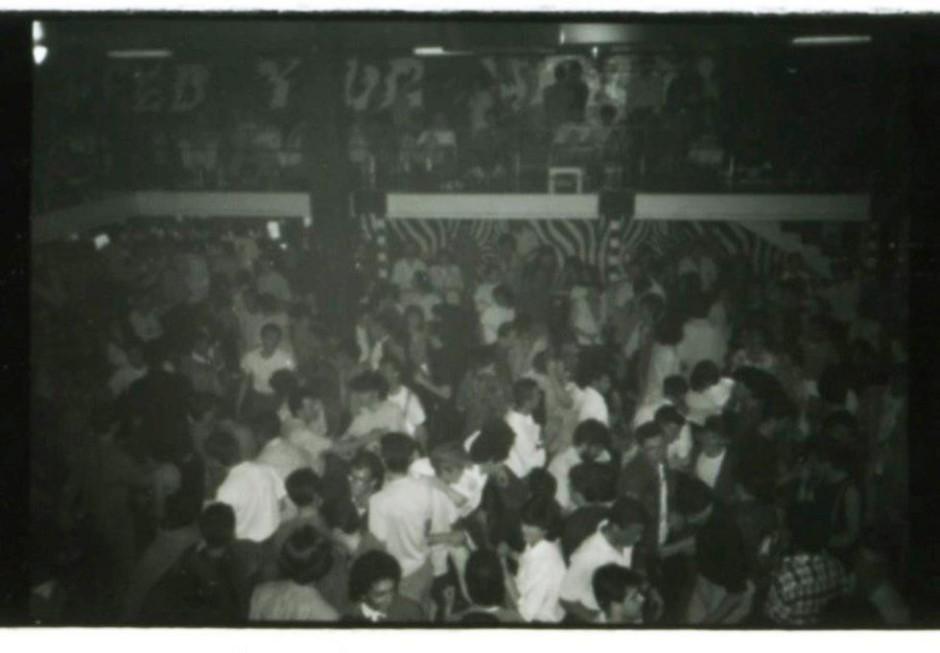 Una serata allo Slego dell'inverno 1985