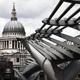 Millenium Bridge, Norman Foster - Londra